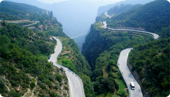Travel At Taihang Sky Road